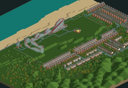 Urban Jungle >> RollerCoaster Tycoon/Bumbly Beach — StrategyWiki, the video game walkthrough and strategy guide wiki