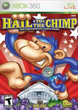 Box artwork for Hail to the Chimp.