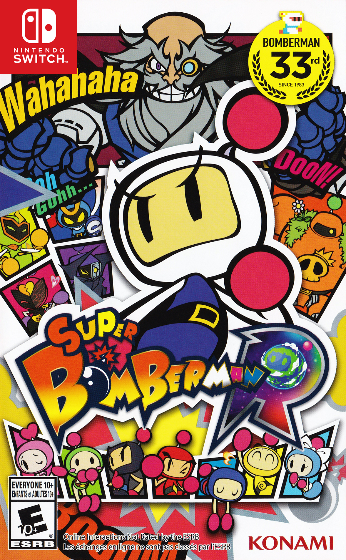 Box artwork for Super Bomberman R.