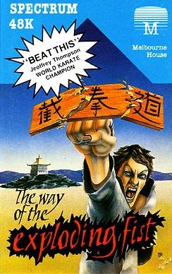 Box artwork for The Way of the Exploding Fist.