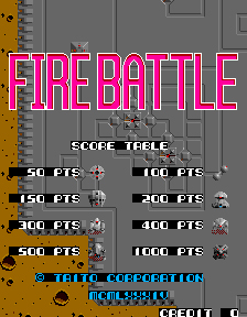 Box artwork for Fire Battle.
