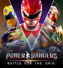 Box artwork for Power Rangers: Battle for the Grid.