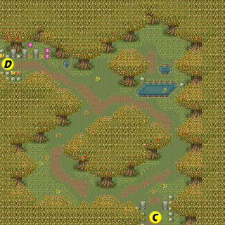 Secret of Mana map Great Forest Autumn.png