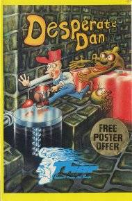 Box artwork for Desperate Dan's Dungeon.