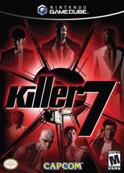 Box artwork for Killer7.