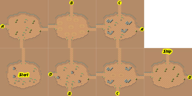 Secret of Mana map Kakkara Desert.png