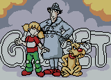 Penny, Inspector Gadget, and Brain