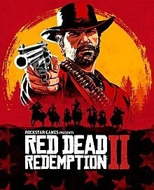 Box artwork for Red Dead Redemption 2.