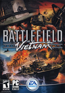 Box artwork for Battlefield Vietnam.