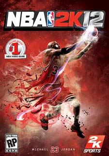 Box artwork for NBA 2K12.