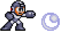 Mega Man 2 weapon sprite Bubble Lead.png