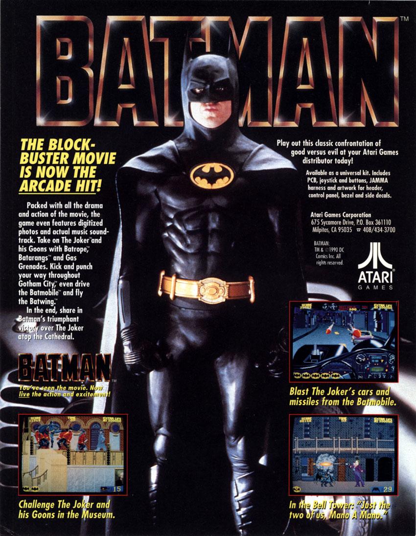 Batman Arcade Strategywiki The Video Game Walkthrough
