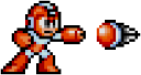 Mega Man 2 weapon sprite Crash Bomb.png