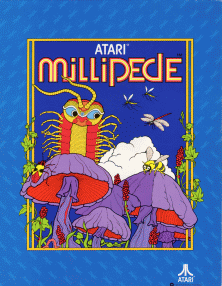 Box artwork for Millipede.