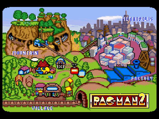 Pac Man 2 The New Adventures Walkthrough Strategywiki
