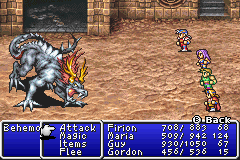 Final Fantasy II boss Behemoth.png