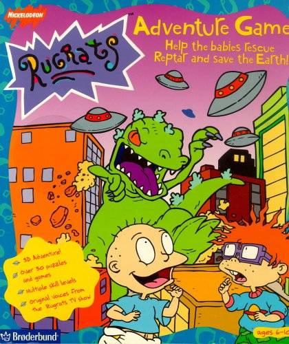 Rugrats Adventure Game Strategywiki The Video Game