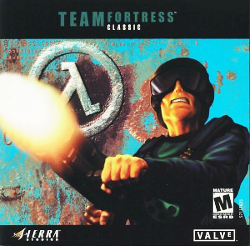 Box artwork for Team Fortress Classic.