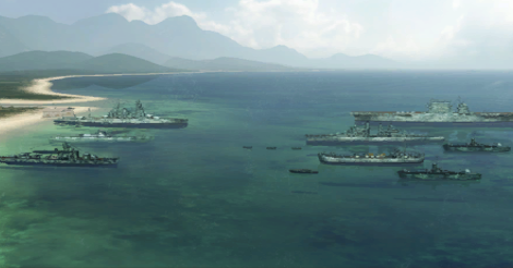 This mode allows you to assist a landing operation or a fleet defence. A game session lasts until the attackers lose all of their resources, or the defenders fail to protect their assets. This game mode offers you the chance to take part in a huge landing operation by giving naval and aerial support.
