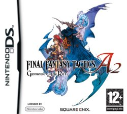 Box artwork for Final Fantasy Tactics A2: Grimoire of the Rift.