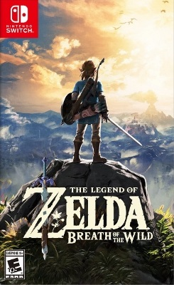 Box artwork for The Legend of Zelda: Breath of the Wild.
