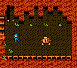 Mega Man 2 battle Wood Man.png