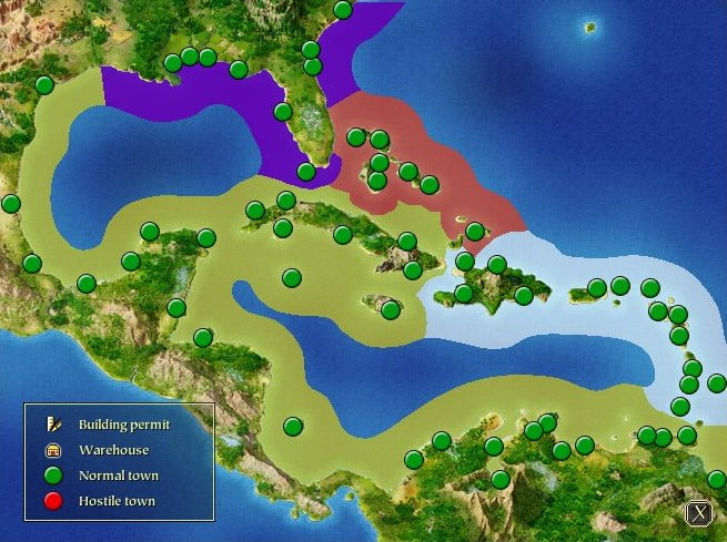 Port Royale 2 Mapa.Port Royale 2 The Caribbean Strategywiki The Video Game