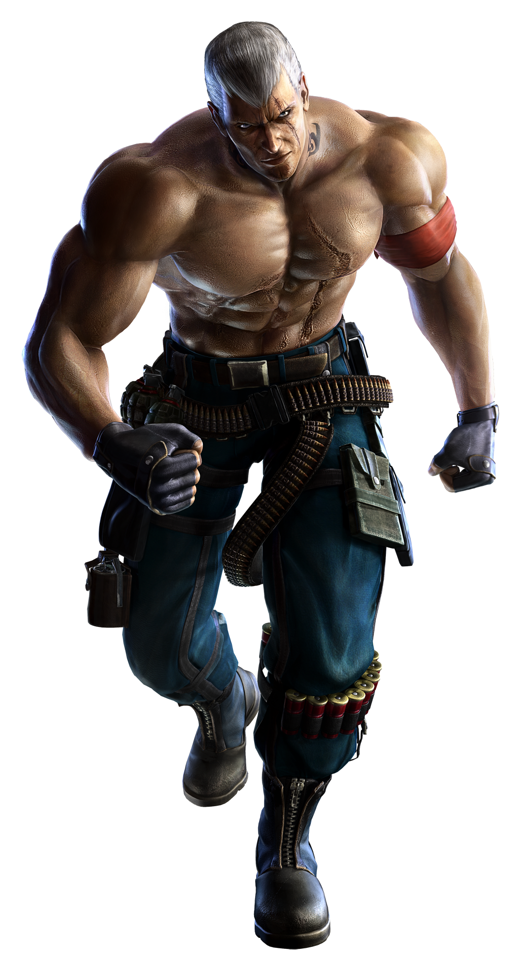 Tekken Bryan Fury Strategywiki The Video Game Walkthrough And Strategy Guide Wiki