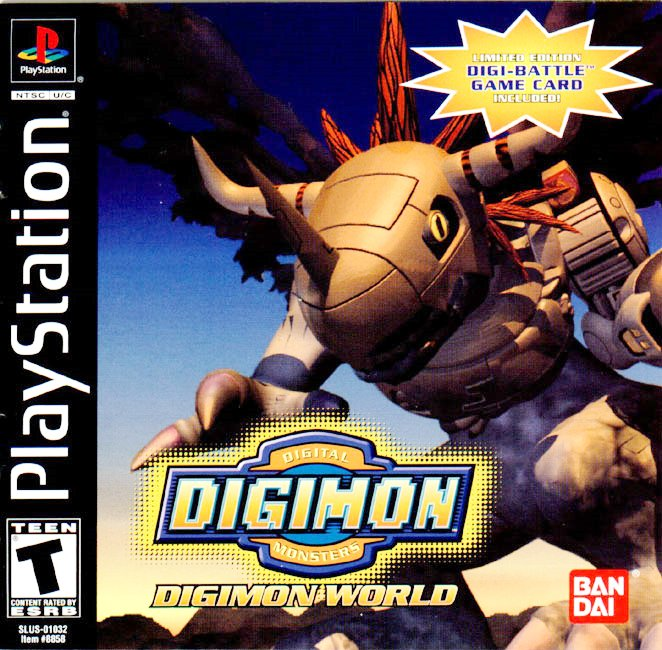 Digimon World — StrategyWiki, the video game walkthrough and