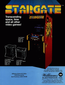 Box artwork for Stargate.