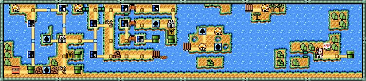 Super Mario Bros  3/World 3 Part 2 — StrategyWiki, the video game