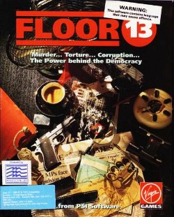 Box artwork for Floor 13.