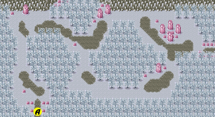Secret of Mana map Crystal Forest a.png