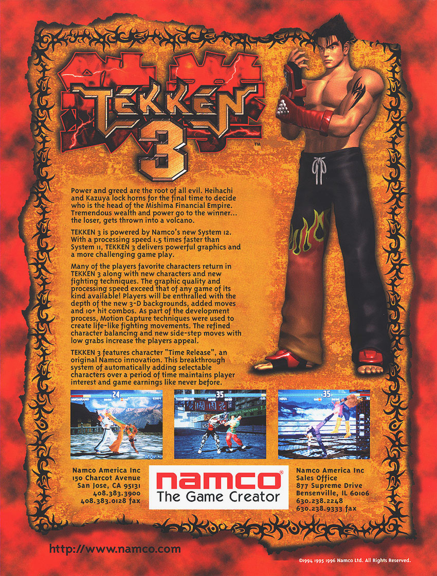 Tekken 3 — StrategyWiki, the video game walkthrough and