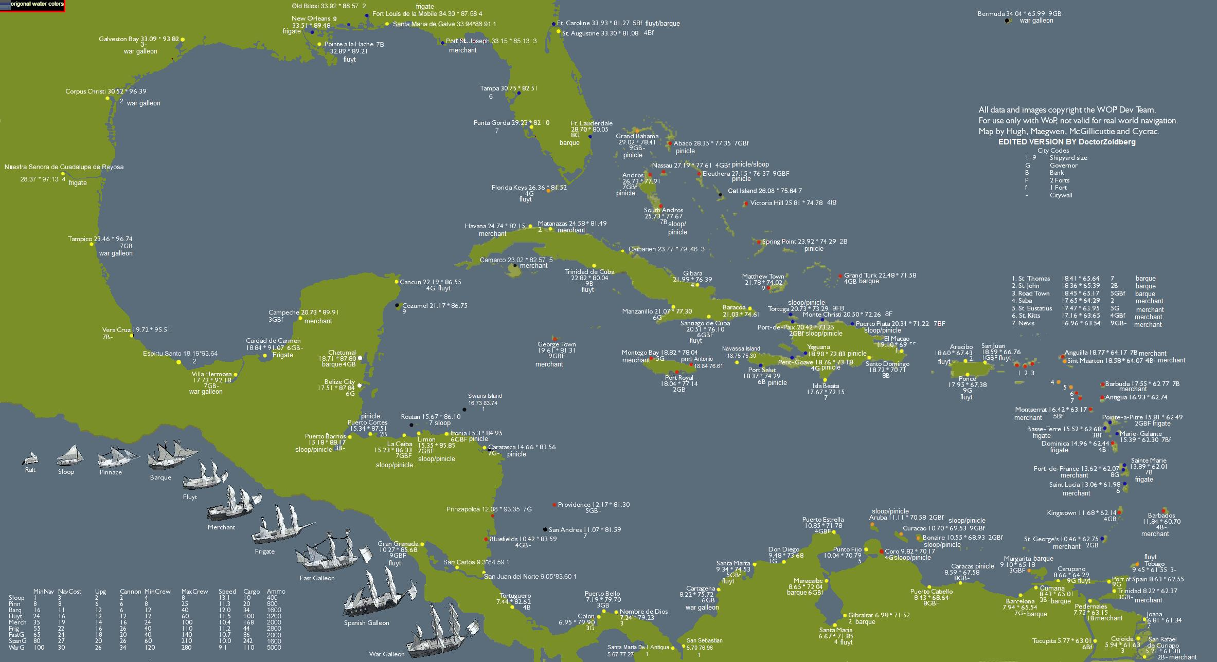 Pirate World Map.World Of Pirates Maps Strategywiki The Video Game Walkthrough And