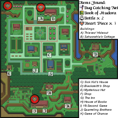The Legend of Zelda: A Link to the Past/Kakariko Village