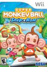 Box artwork for Super Monkey Ball: Step & Roll.