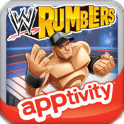 Box artwork for Apptivity WWE Rumblers.