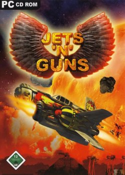 Box artwork for Jets'n'Guns.