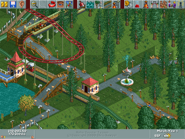 RollerCoaster Tycoon/Ivory Towers — StrategyWiki, the ...