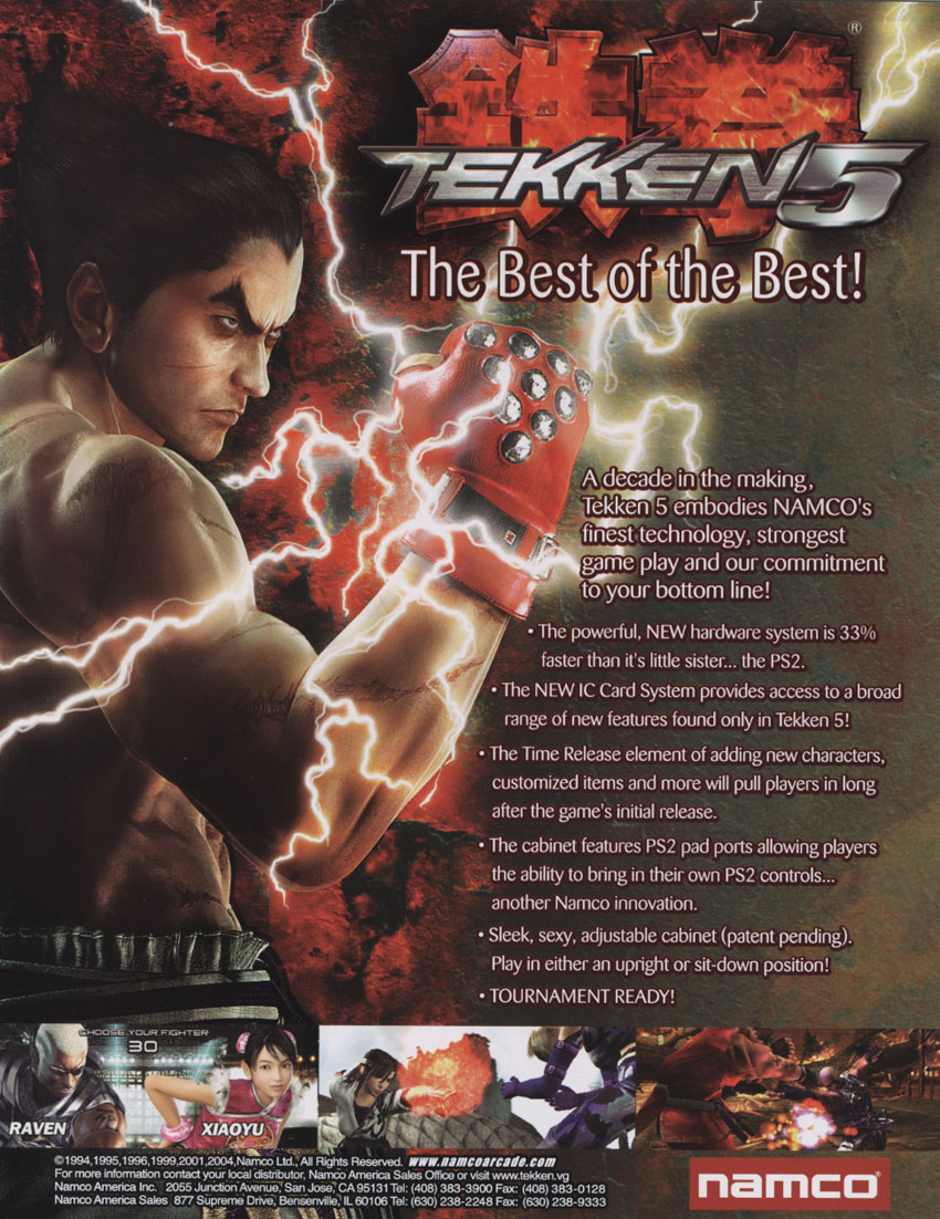 Tekken 5 Strategywiki The Video Game Walkthrough And Strategy Guide Wiki