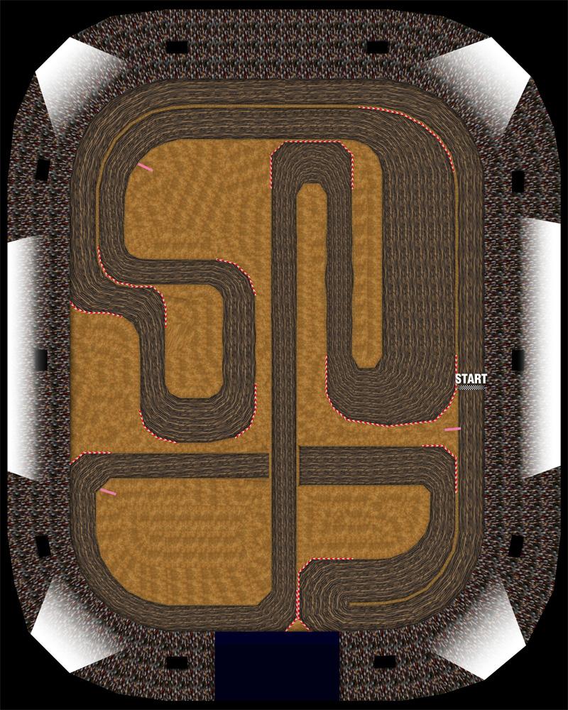 Mario Kart 64 Wario Stadium Strategywiki The Video Game