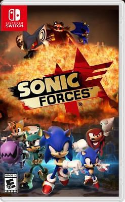 Box artwork for Sonic Forces.