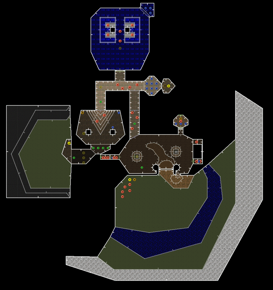 Doom II: Hell on Earth/MAP01: Entryway — StrategyWiki, the