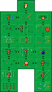 The Legend of Zelda/Underworld/Quest 2/Dungeon 2 — StrategyWiki, the