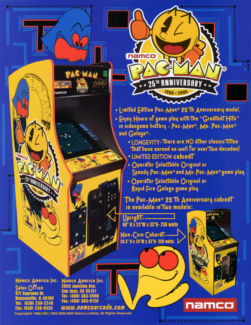 Pac Man 25th Anniversary Strategywiki The Video Game