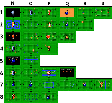 The Legend of Zelda/Underworld/Quest 1/Dungeon 7 — StrategyWiki, on guild wars 1 map, strategy 1 map, assassin's creed 1 map, uncharted 1 map, zelda cheat map, majora's mask map, hyrule world map, metal gear solid 1 map, mario 1 map, tomb raider 1 map, zelda adventure map, the sims 1 map, king's quest 1 map, skyward sword sky map, making a simple map, zelda 3 map, portal 1 map, legacy of the wizard map, history mind map, nes zelda world map,