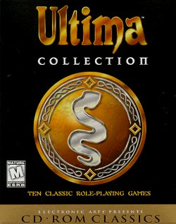Box artwork for Ultima Collection.