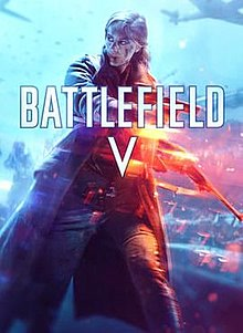 Box artwork for Battlefield V.