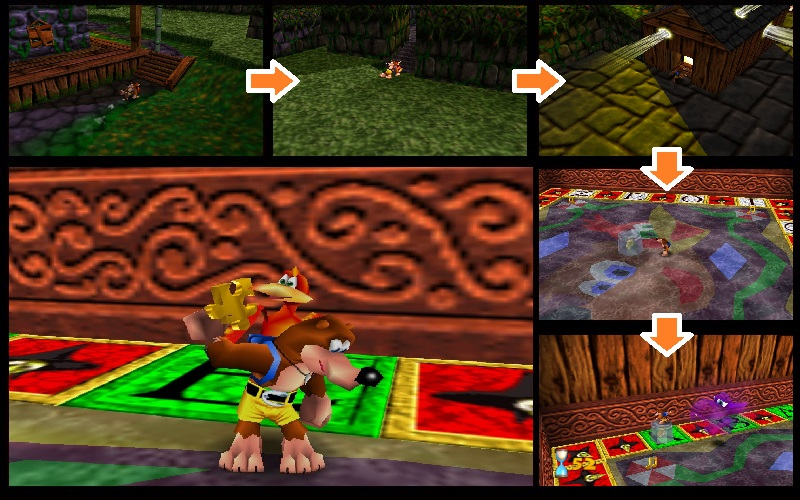 Banjo-Kazooie/Mad Monster Mansion — StrategyWiki, the video